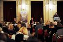 February 5, 2014 (Palace Žofín): Launch Conference of the Programme CZ06: Eva Anderová (Ministry of Finance), Jens Eikaas (Norwegian Embassy in Prague), JUDr. Marta Smolíková (Ministry of Culture), Martin Boruta (Ministry of Finance)