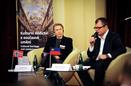 February 5, 2014 (Palace Žofín): Launch Conference of the Programme CZ06: Ms Astrid Bjerke (Arts Council Norway), Mr Michal Bregant (The National Film Archive in Prague)