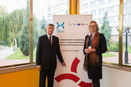 20th October 2015, The Czech Minister of Finance Andrej Babiš together with State Secretary Elsbeth Tronstad from the Norwegian Ministry of Foreign Affairs