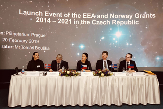 Illustration - Launch Event of the EEA and Norway Grants 2014-2021 in the Czech Republic